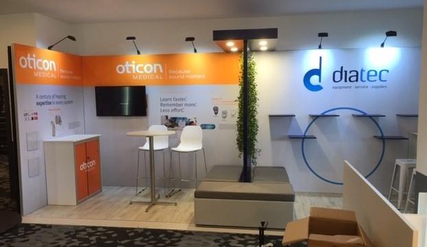 Oticon Medical and diatec @ NZAS