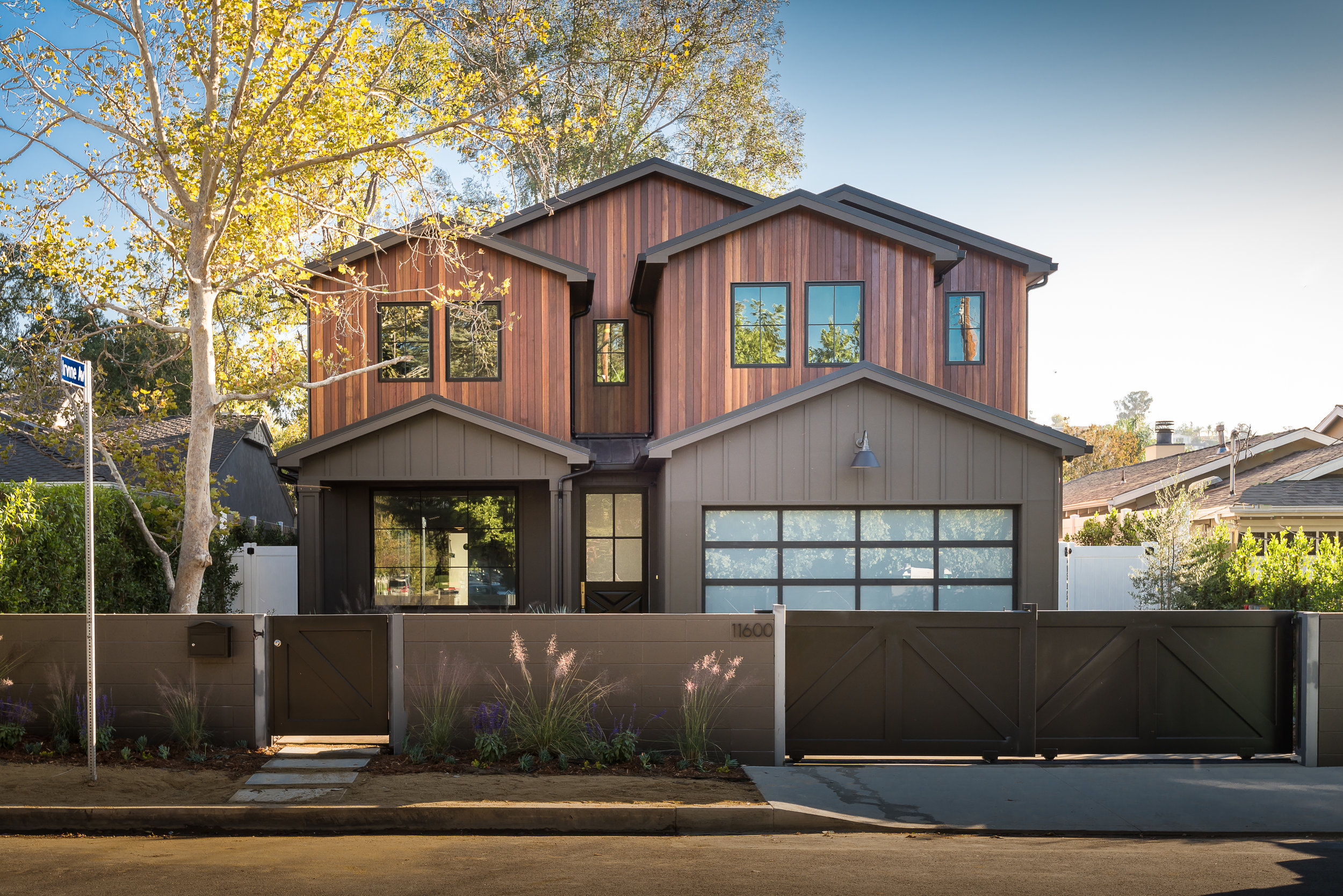 ACAMA STREET | STUDIO CITY   Modern Craftsman with stunning ironwood gable design. The epitome of exceptional workmanship and unparalleled quality for this style of luxury construction.