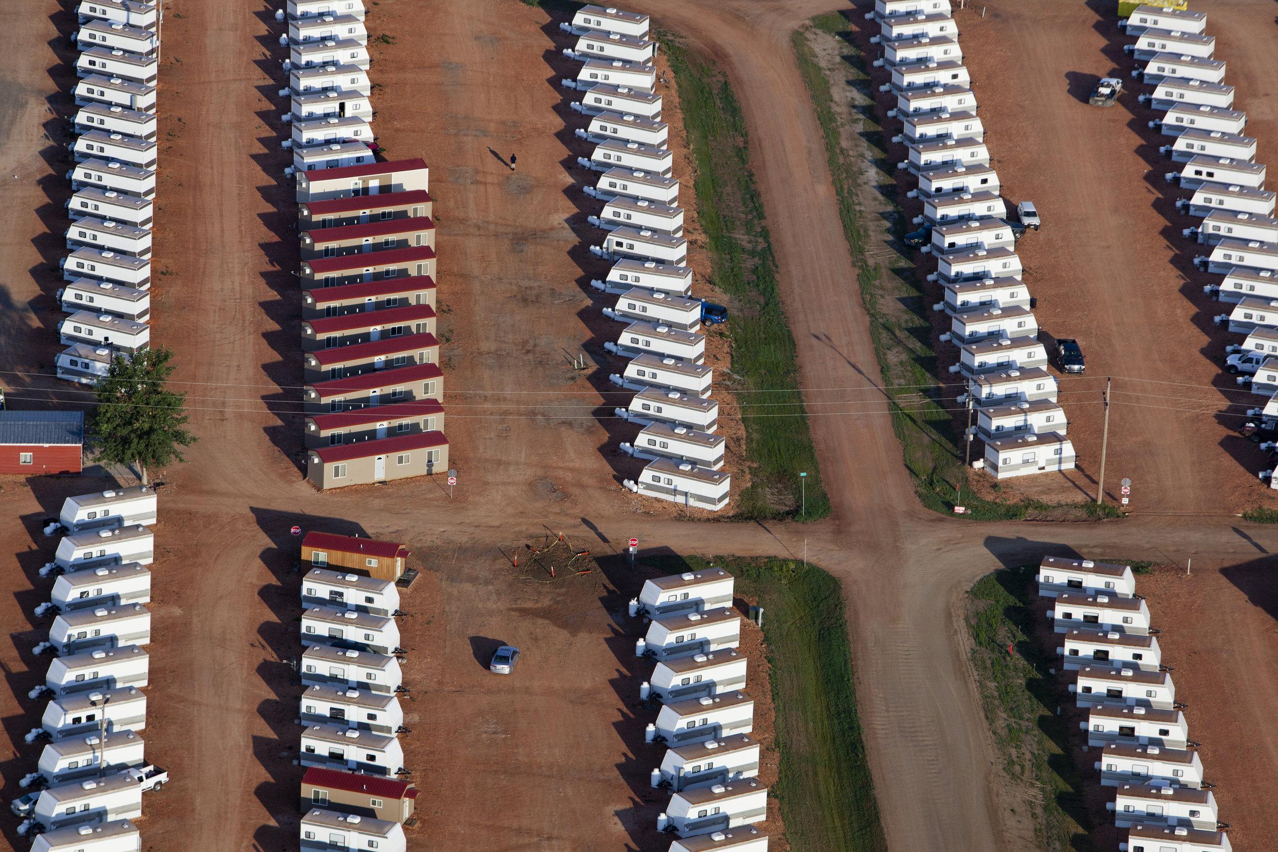 Oil boom, Williston, North Dakota