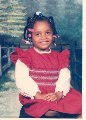 I'm about 4 or 5 years old in this photo. This was before I entered kindergarten.