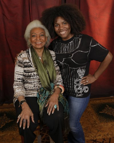 2014 will forever be known as the year I met Nichelle Nichols. Beautiful spirit who I was absolutely speechless to meet.