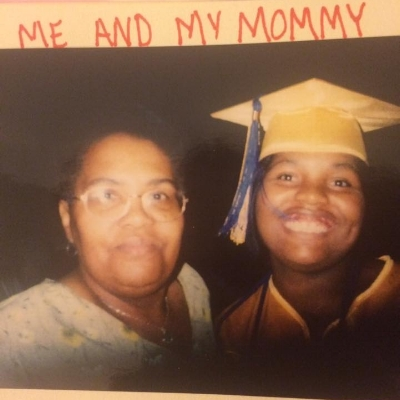 My mom and I at my high school graduation in 2003. This was the last picture we took together. In 2005, she died after a short battle with breast cancer. It was her second battle with breast cancer. The first time occurred in 1995 when I was 10 years old.