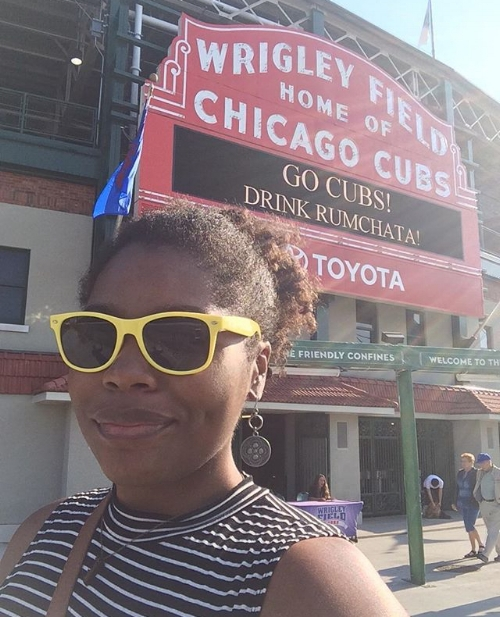 Best tour I took in Chicago. This was a mere weeks before the Chicago Cubs won the World Series. I attribute their win to my visit. #justsaying