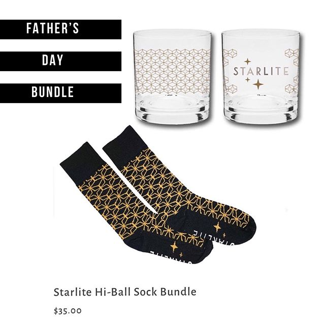 We've for some great Father's Day Gift ideas in our online store. ✨ www.starlitesandiego.com/store ✨ #fathersday  #hiball  #socks #madeinusa🇺🇸 #starlitesandiego
