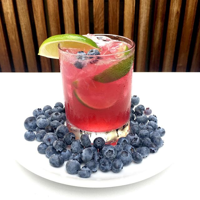 Summer Cocktail Alert ✨Blueberry Hill✨ Cachaca - Blueberry Shrub - Lime  Be warned, this drink packs a punch. It's not the sweet berry angel it looks like. *note: a plate of berries is not included . . #starlitesandiego  #hiddengem  #cachaca  #blueberrycocktail  #drinks #sandiegococktails
