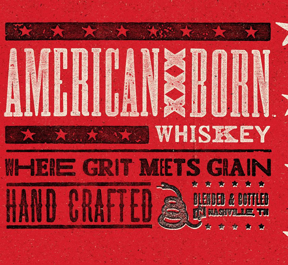 American Born Whiskey Bar Mat