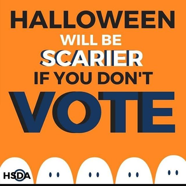 So true! Have a happy and safe Halloween, everyone!  Credit: @hsdems