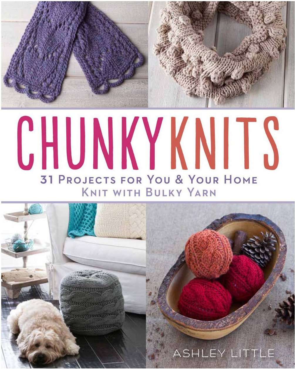 Chunky Knits Pillow and Footstool