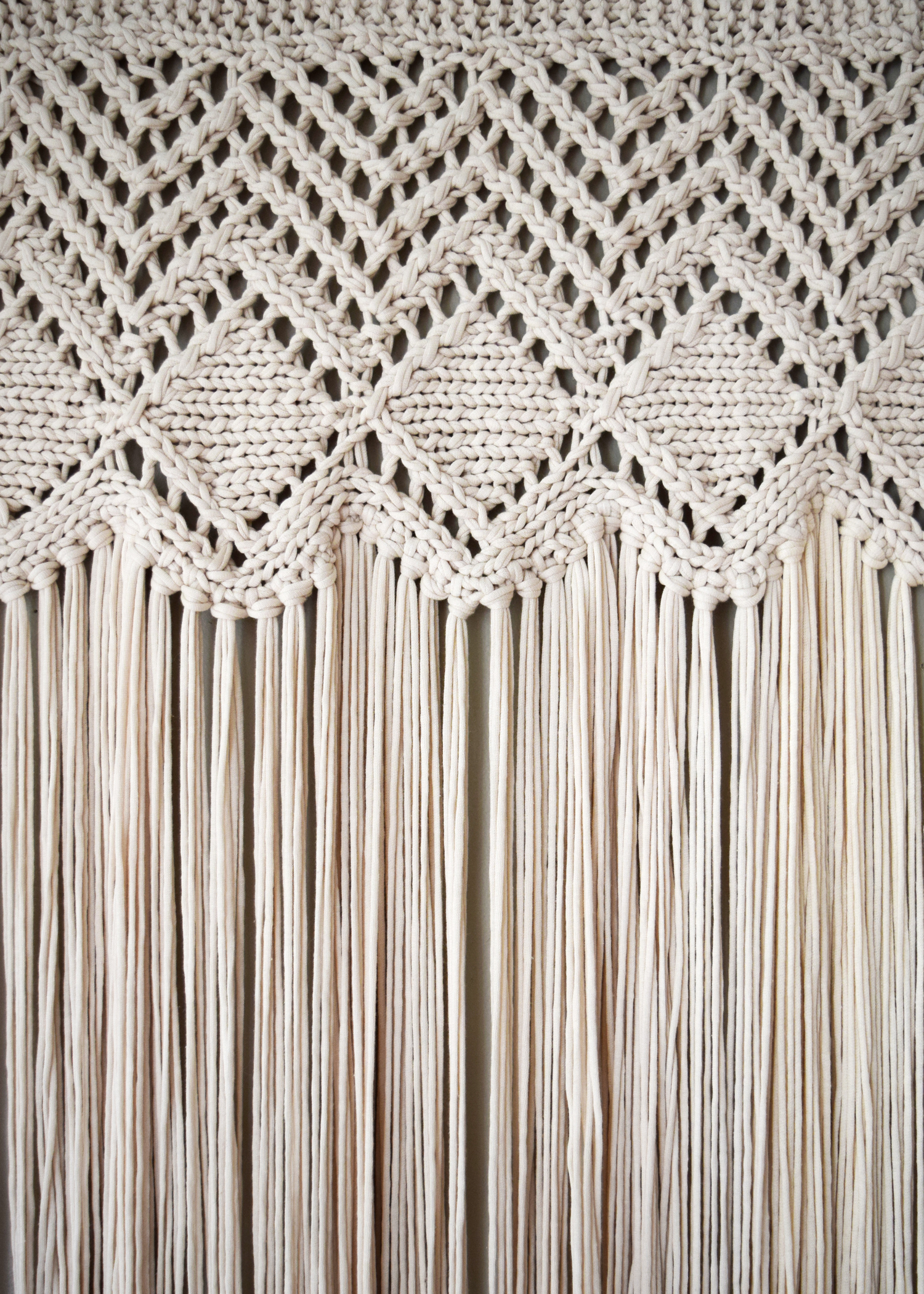 Welcome to the Fringe - This fringed curtain knits up quick using two strands of bulky weight yarn held together as one. This gorgeous piece works well as either a curtain or a wall hanging and is worked side to side, so creating the width you want is a breeze.Subscribe above to automatically receive your Free copy!