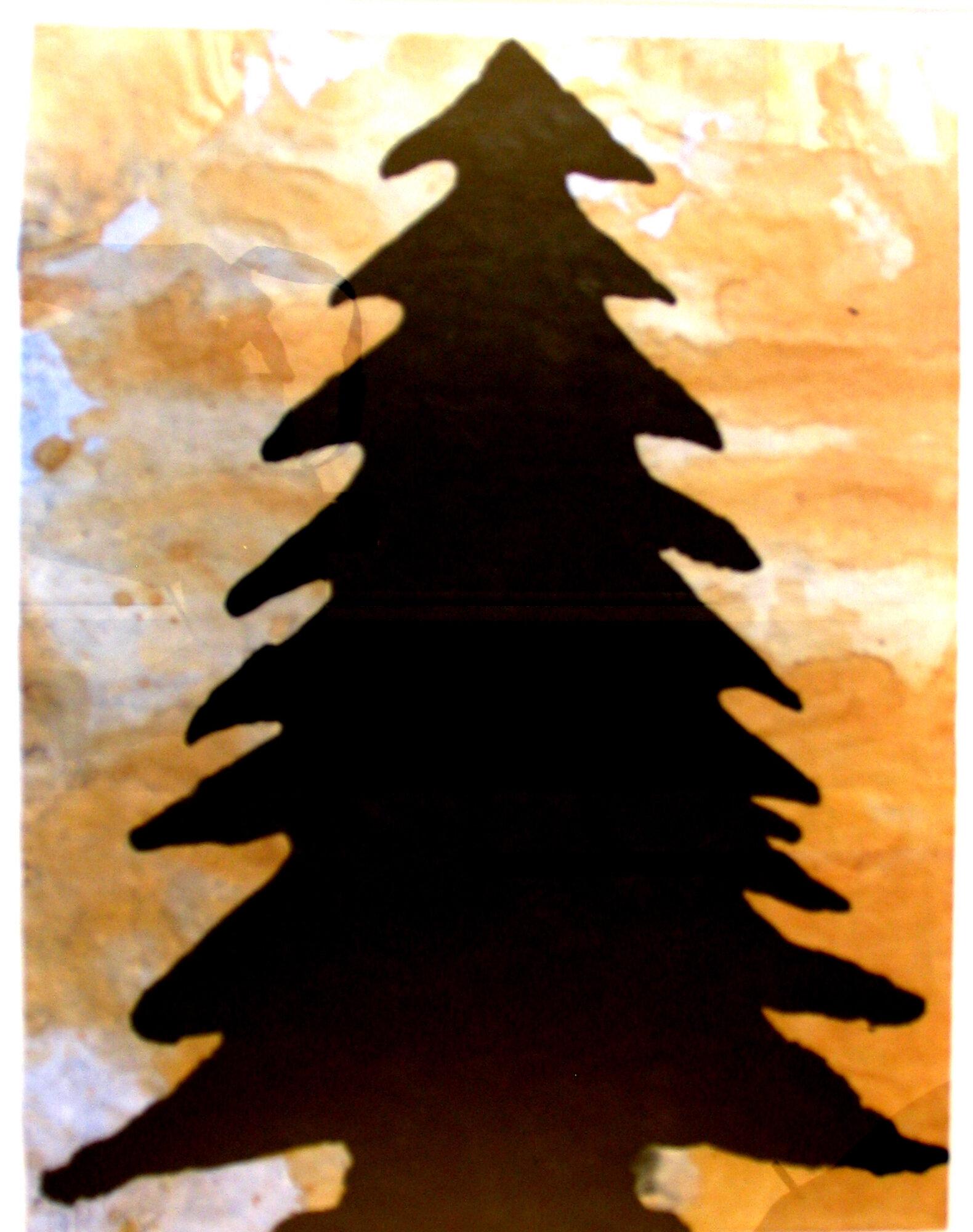 Tree by Donald Baechler
