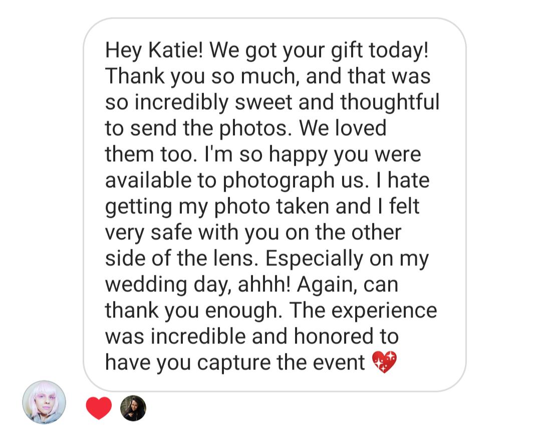 Reviews Katie Yuen Photography