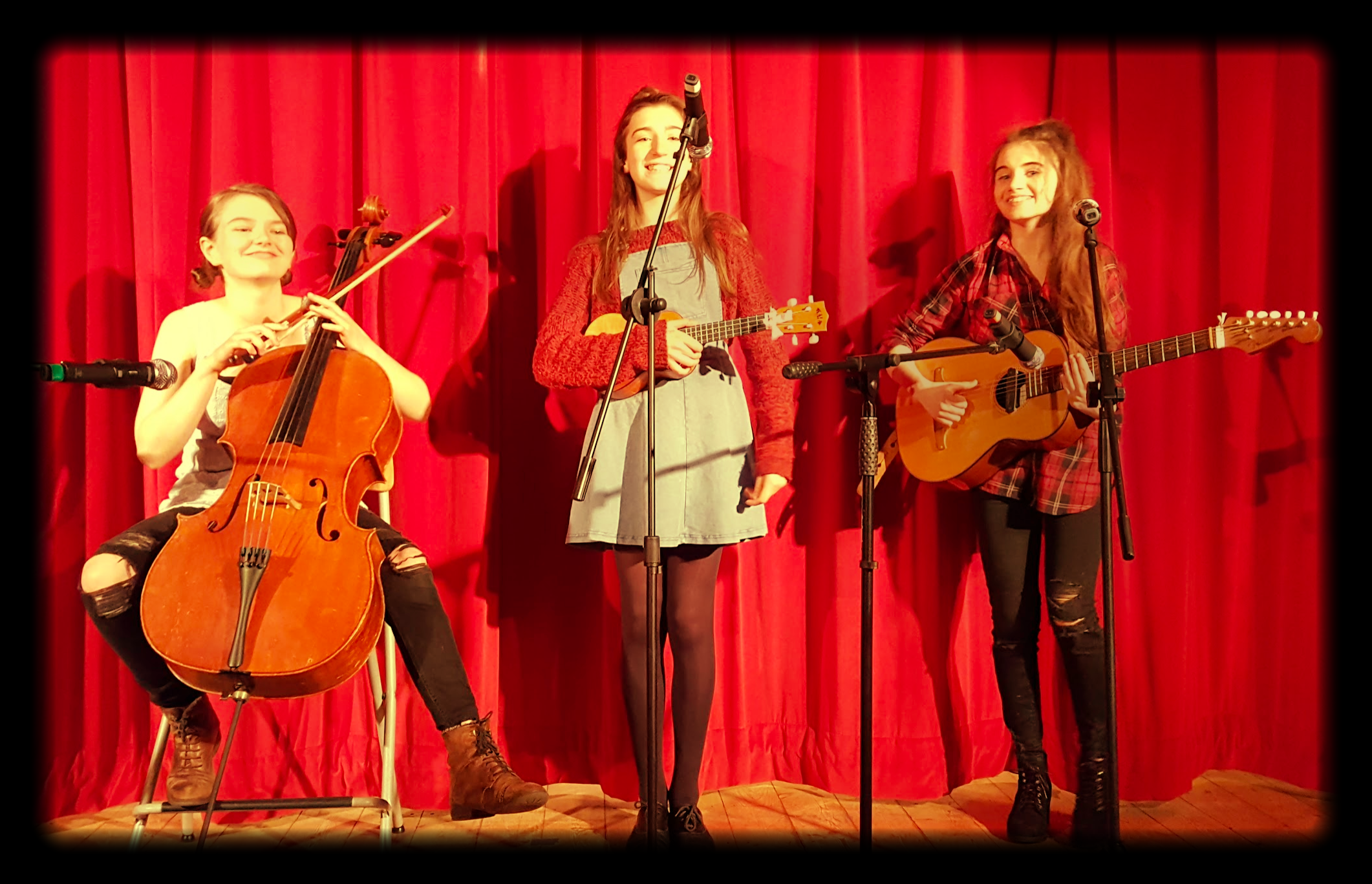 Young folk-inspired  performers at this year's May festival.