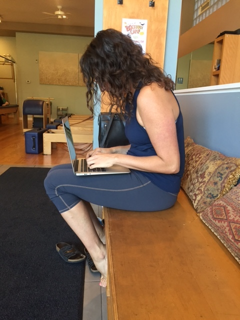 Work Posture - All the same tightnesses of the fetal position...plus more