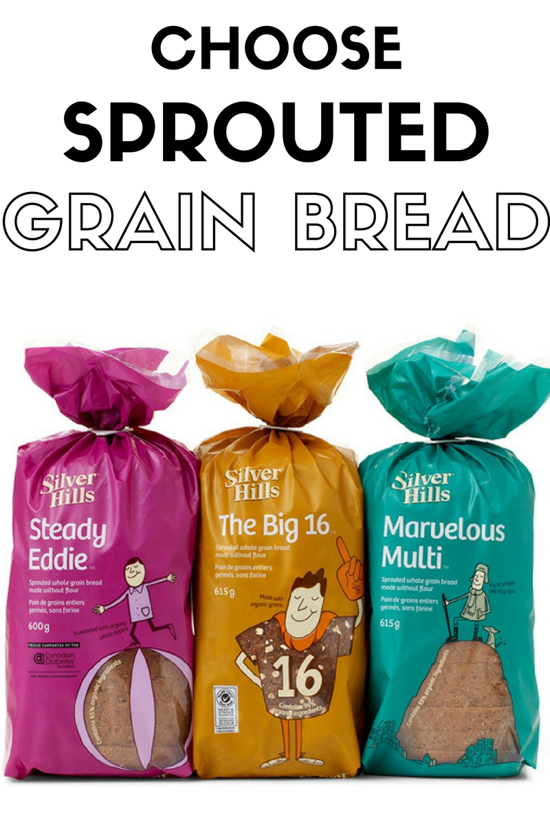 Sprouted grain bread. Silver Hills Bakery