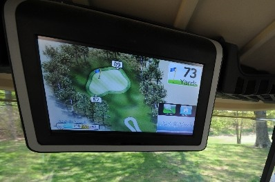 Have confidence in your yardage and pace of play with the incredibly accurate TekGPS unit installed in each cart.
