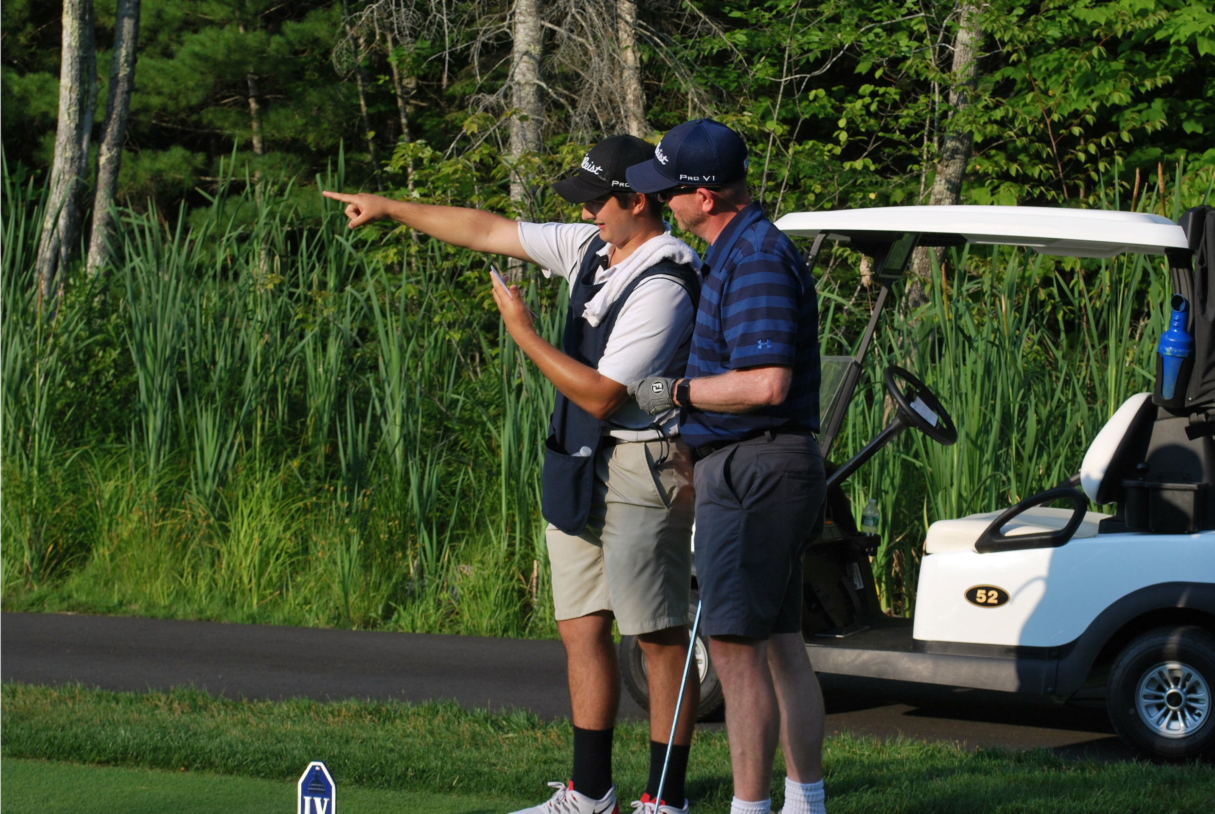 Caddie services are available by request. Walking caddies and forecaddies add another level to any golfing experience. Help finding the occasional errant tee shot or another set of eyes on a difficult putt can really help your score at the end of the round.