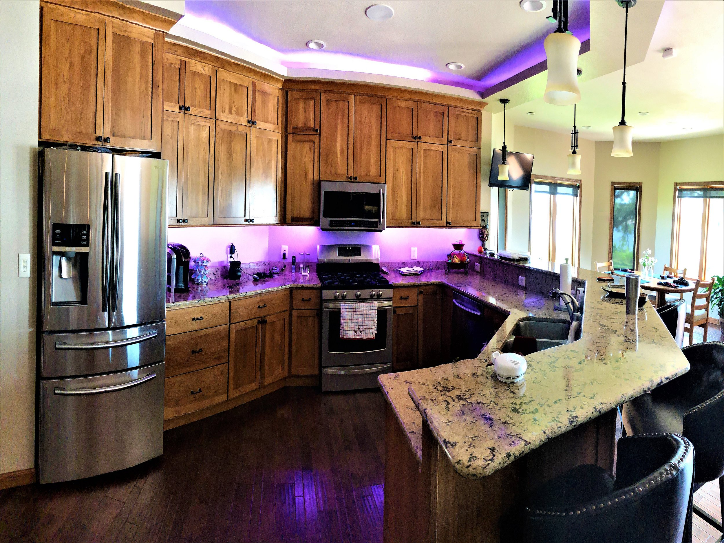 residential services include: - new constructionremodelsnew lighting optionsintegration with communications