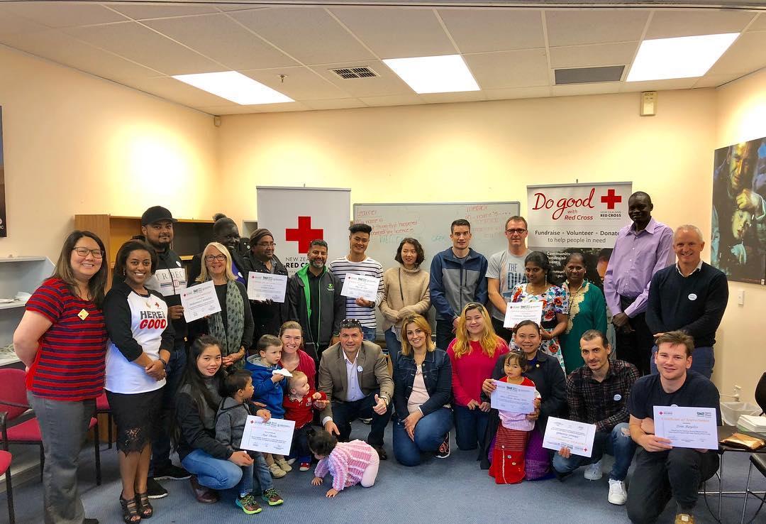 New Zealand Red Cross Open Road program Graduation