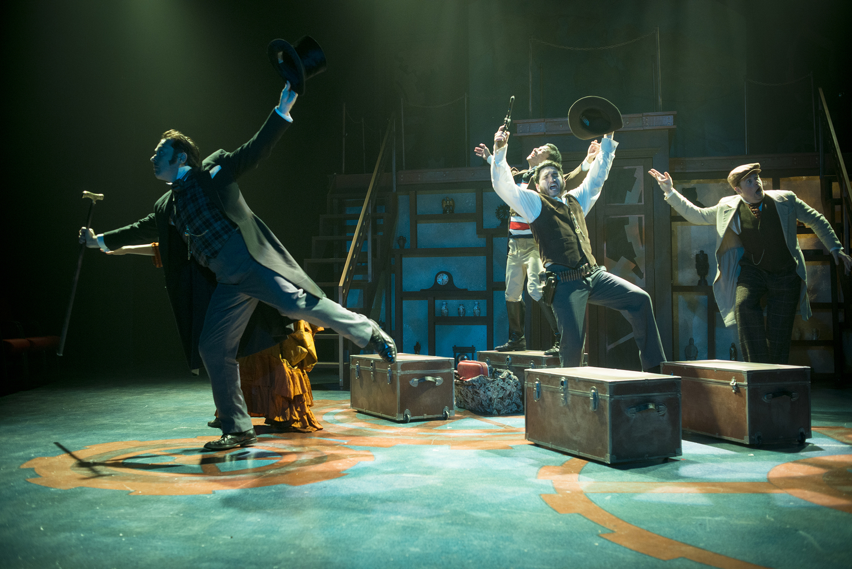 Around the World in 80 Days - Hangar Theater | Jesse Bush, Director | Photography by Rachel Philipson
