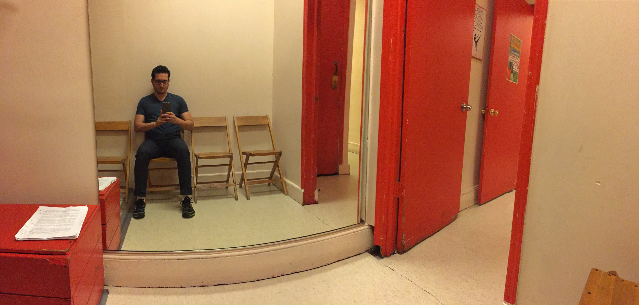 The Waiting Room at Ripley-Grier