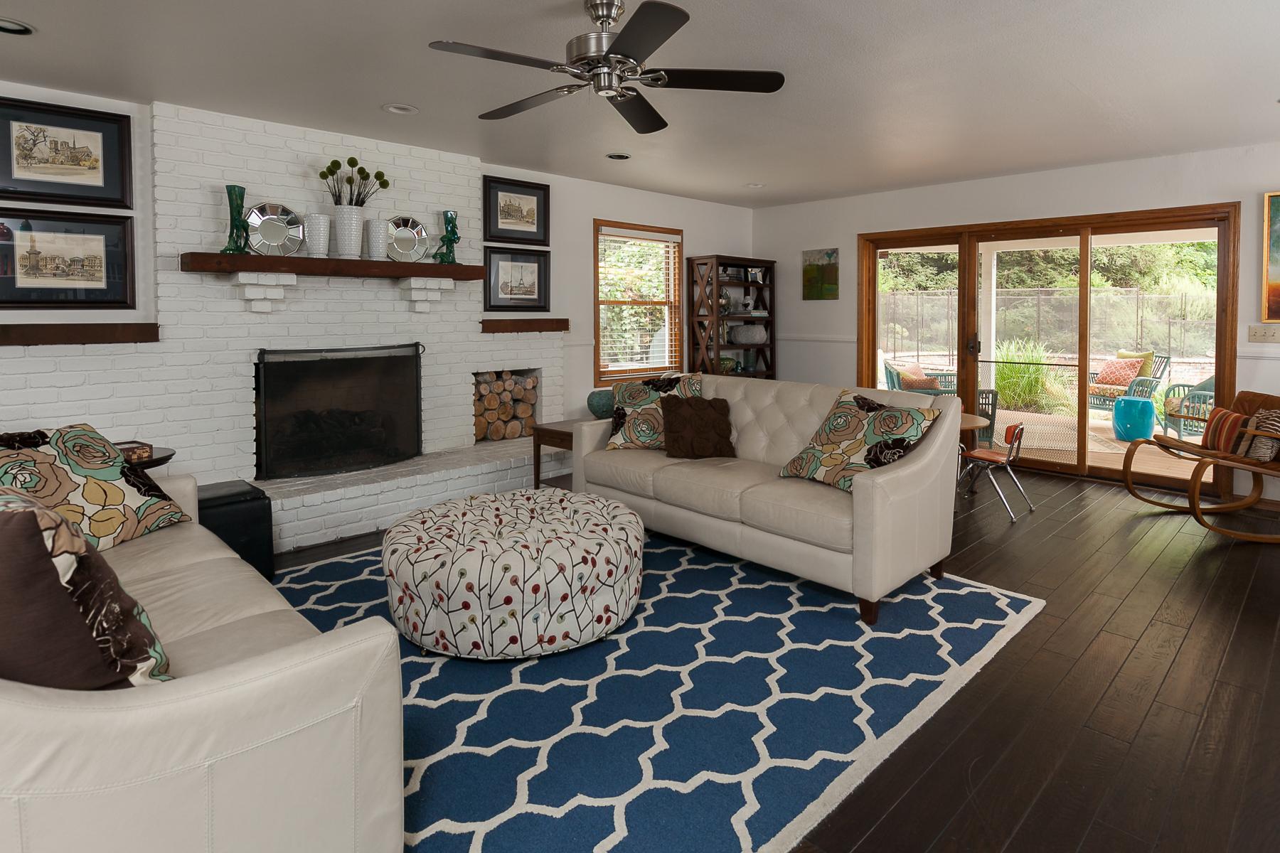 Songbird Residence Living Room Design in Chico, CA