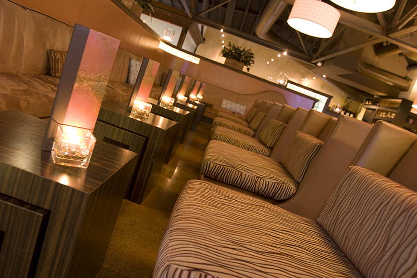 Commercial Restaurant and Lounge Design Project | Chico, CA | Lounge Seating