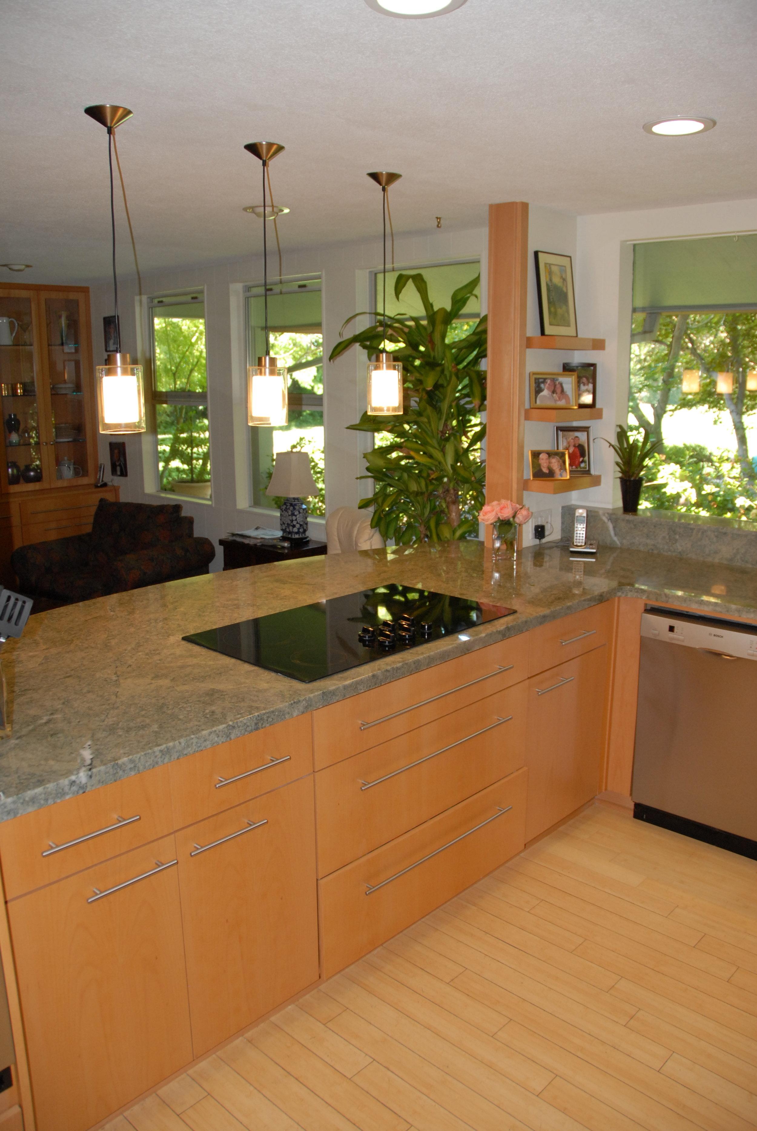 Mid Century Modern Kitchen Remodel in Chico, CA