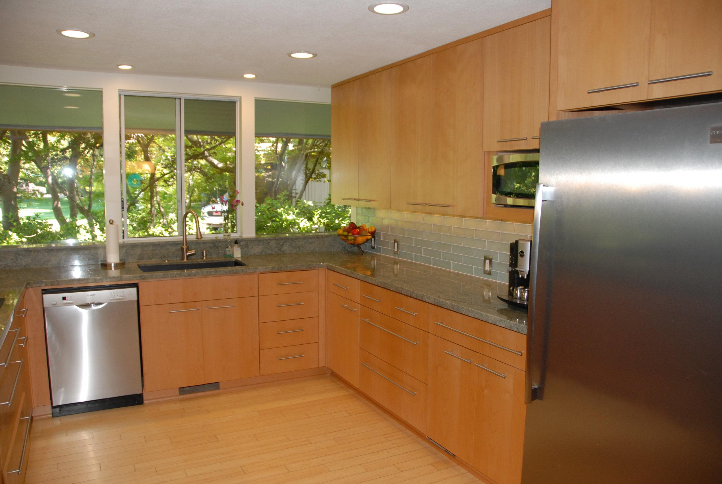 MId Century Modern Style Kitchen Remodel