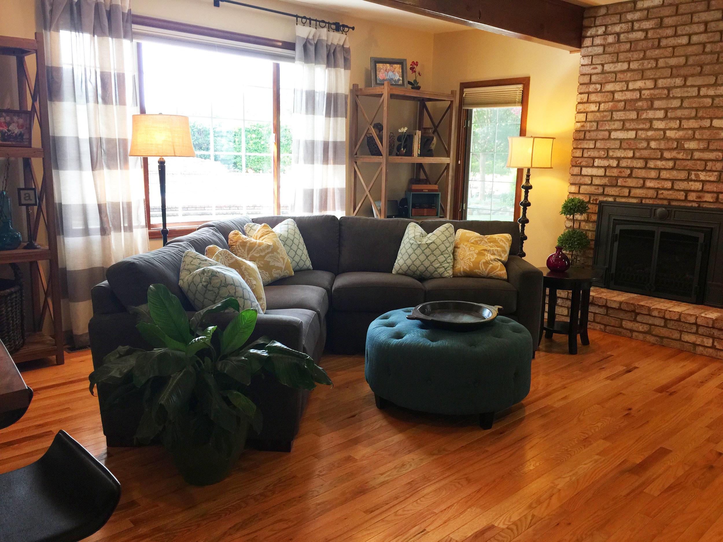 Roble Vista Residence Family Room Remodel