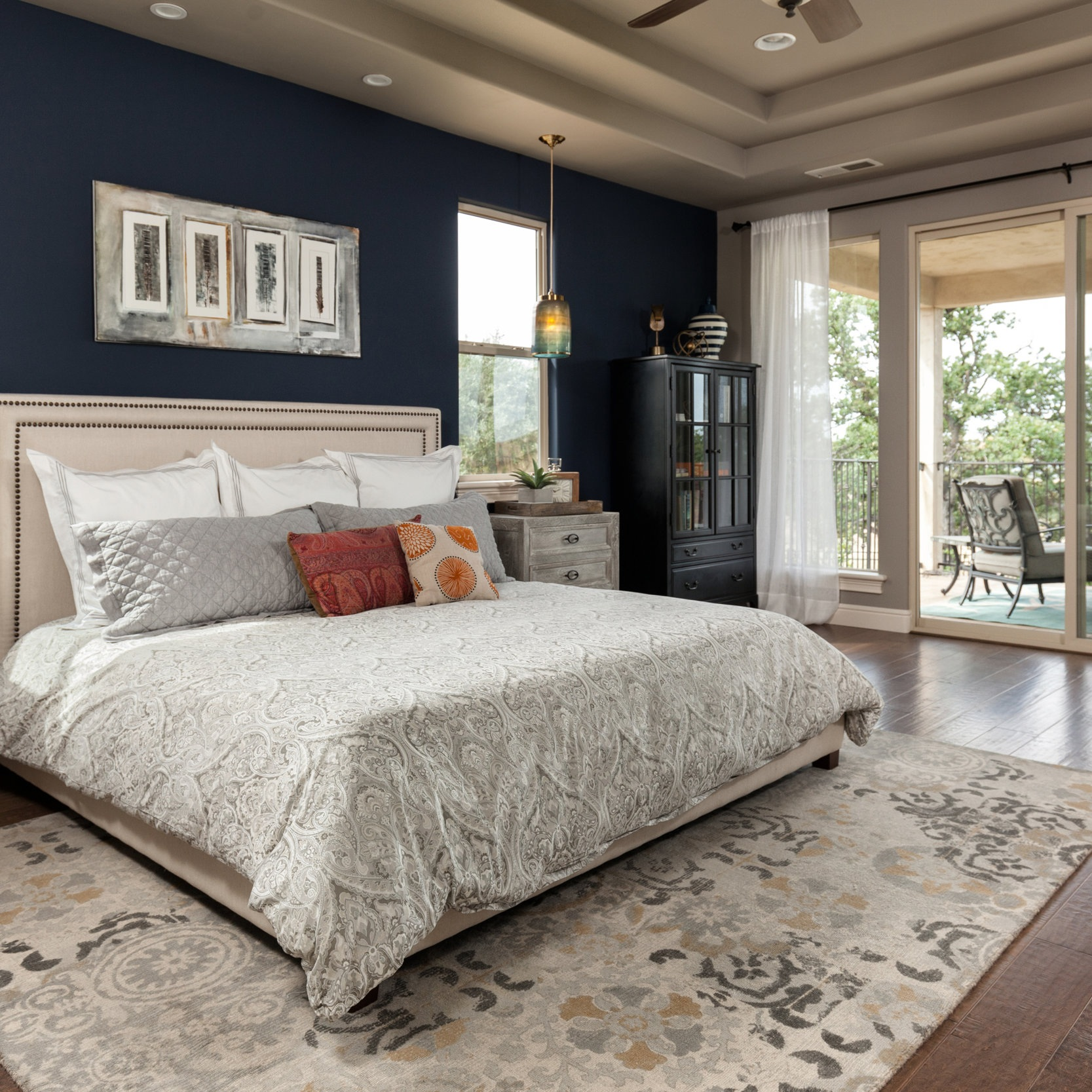 Summit Ridge Terrace - RUSTIC MODERN STYLE MASTER BEDROOM SUITE REMODEL
