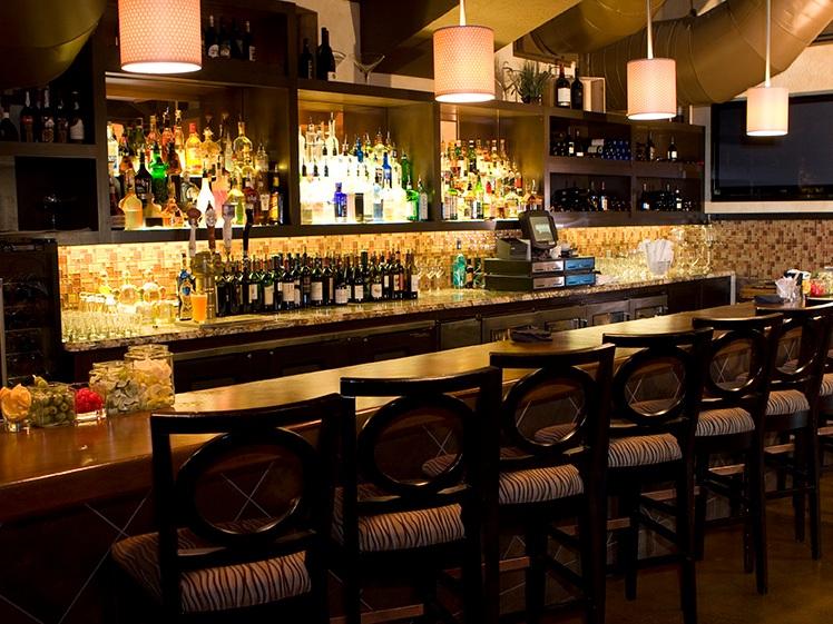 Crush Italian Cuisine & Lounge - Commercial Restaurant and Bar Interior Design   Chico, CA