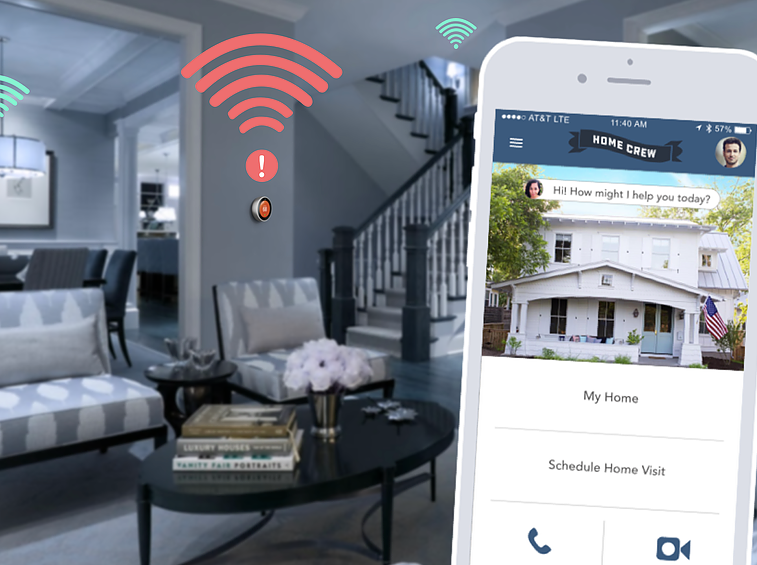 Up Keep - Home Crew subscribers will have a Home Crew agent on call for routine maintenance and trouble shooting as well as ecosystem upgrades.