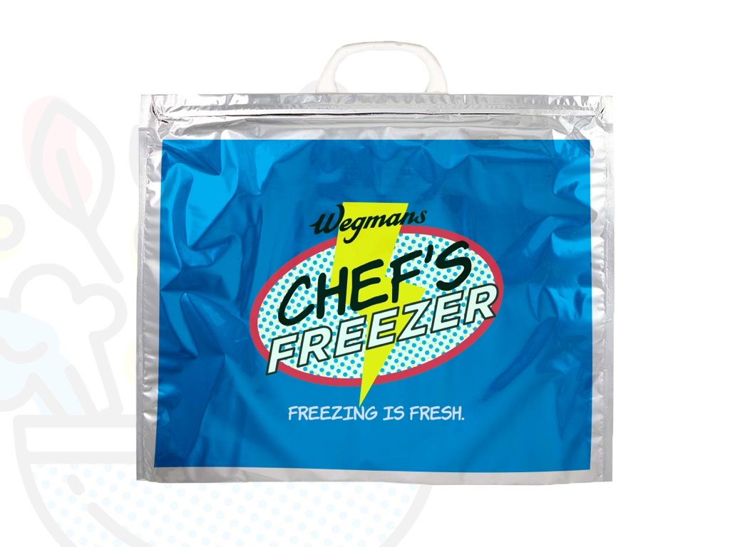 Freezing stays fresh - To reinforce the freshness of our meals, Insulated bags will then be available for consumers to purchase to bring their frozen meals home in.
