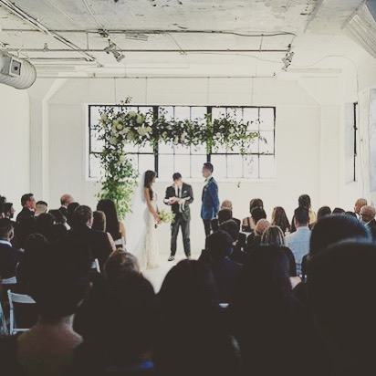 Such a pretty ceremony that took place in the Suite, an extension to @thespacehtx. Repost @my_koh 📸: @soundjar  #thestudiohtx #thespacehtx