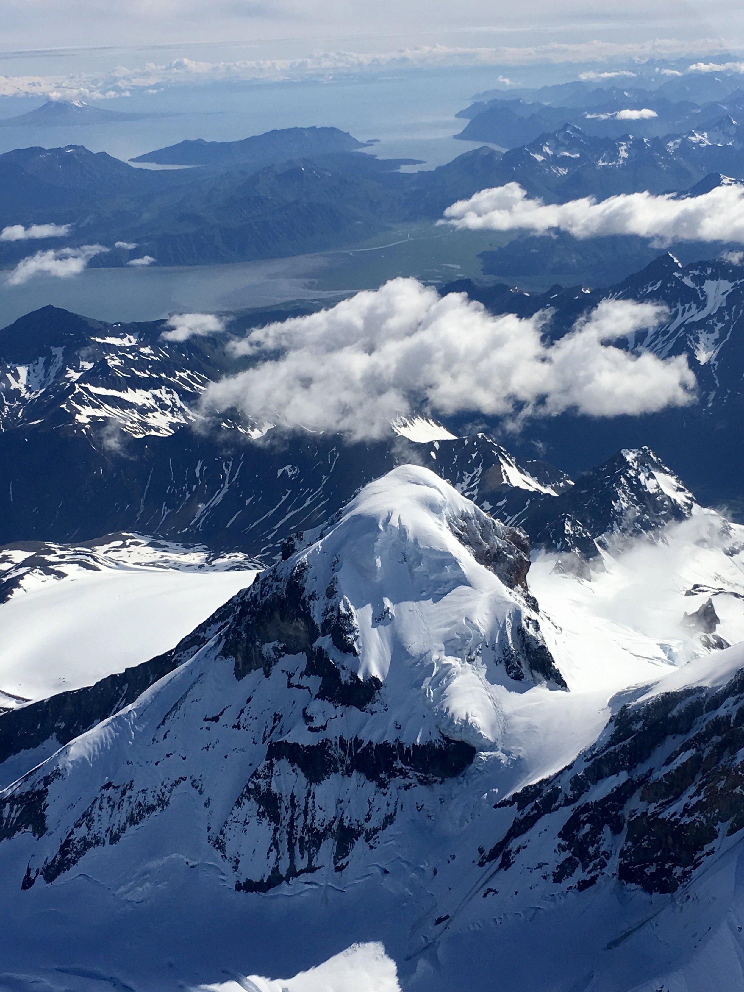 Mt Iliamna - Chinitna Bay Lake Clark NP