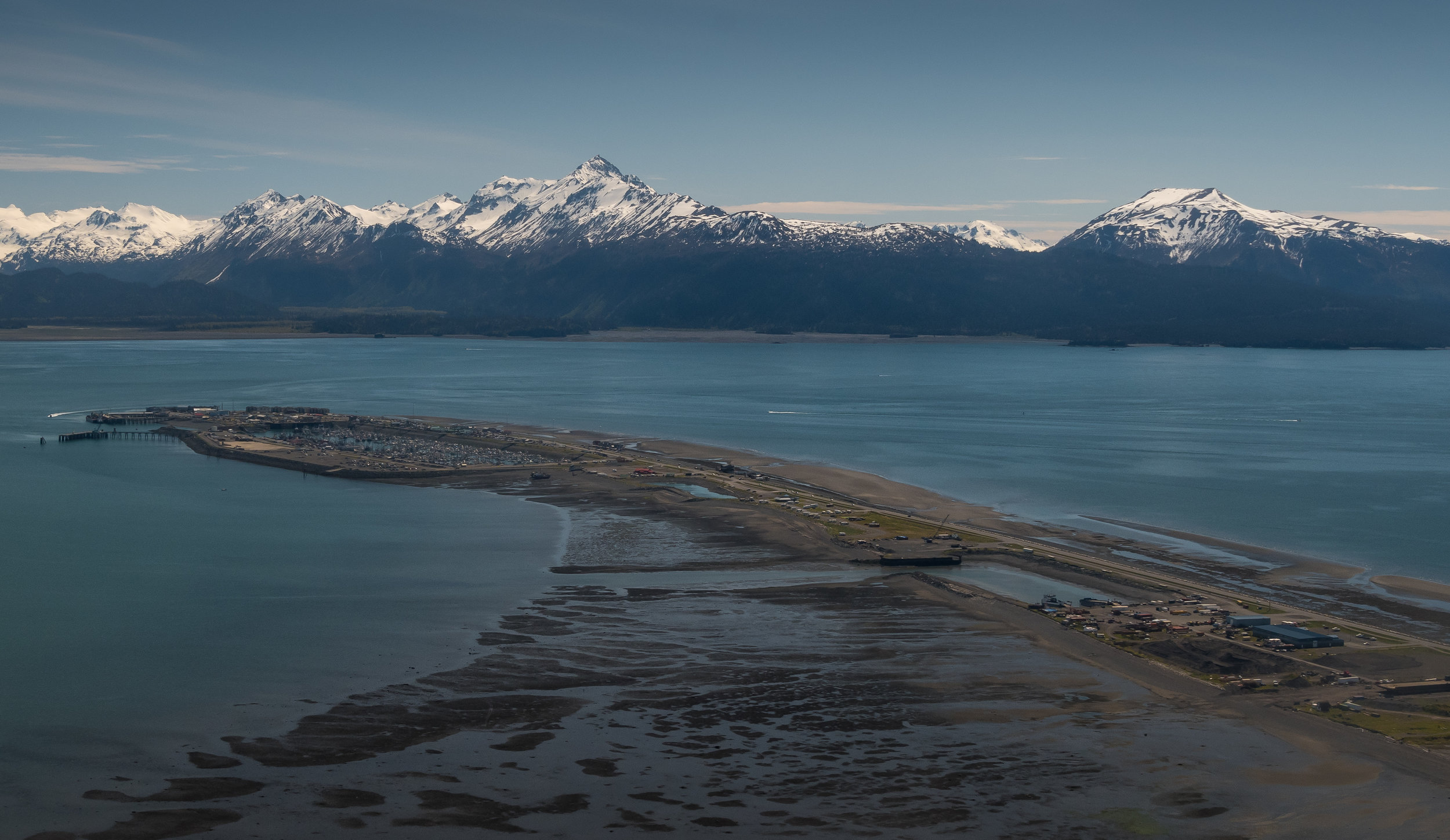 And while here, you will get to know the Homer Spit, formed by glacial moraine.