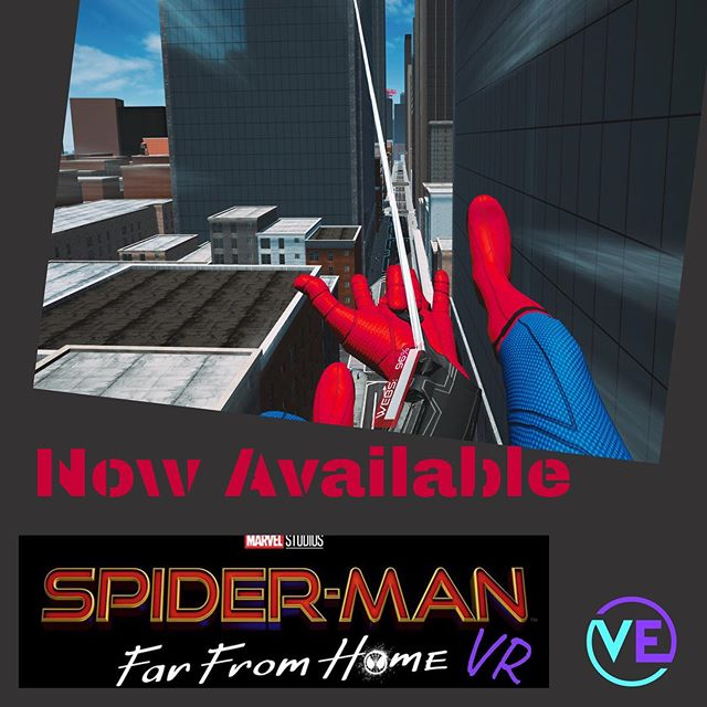Swing through the city fighting robots and BE SPIDER MAN!  Now available at VE . . . . . #spidermanfarfromhome #vearcade #virtualreality #vr #neonnight #virtualexperience #downtownprovo #uvu #byu #provo #utahvalley #weekend #centerstreetprovo #datenight #experience #thingstodo #utahactivities