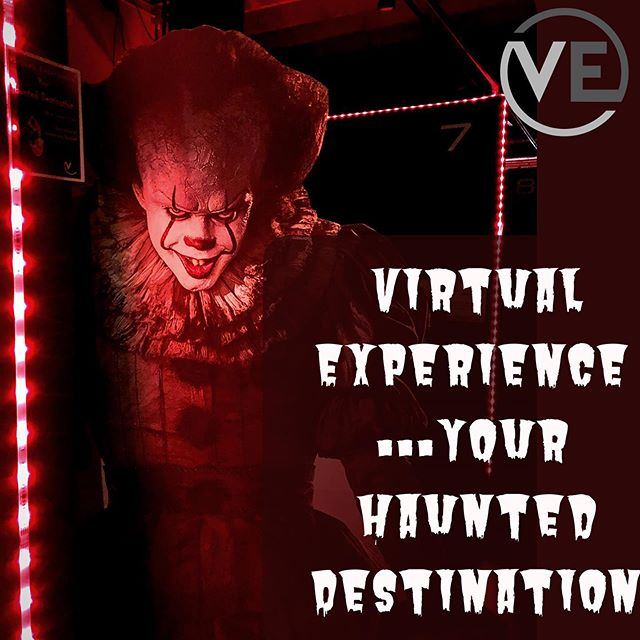 We are your Haunted Destination this year. Just try to make it through some of our horror games without screaming. We have: . Emily wants to play Brookhaven Experiment Affected the Manor Dread Halls Arcade La Deadzone Sweet Escape climb or die . And coming soon: Araya Paranormal Activity: Lost Soul . Tag a friend and tell us which game you're brave enough to try for a chance to win a free hour. . . . . #vearcade #virtualreality #vr #neonnight #virtualexperience #downtownprovo #uvu #byu #provo #utahvalley #weekend #centerstreetprovo #datenight #experience #thingstodo #utahactivities #hauntedhouse #haunted #haunteddestination #halloween
