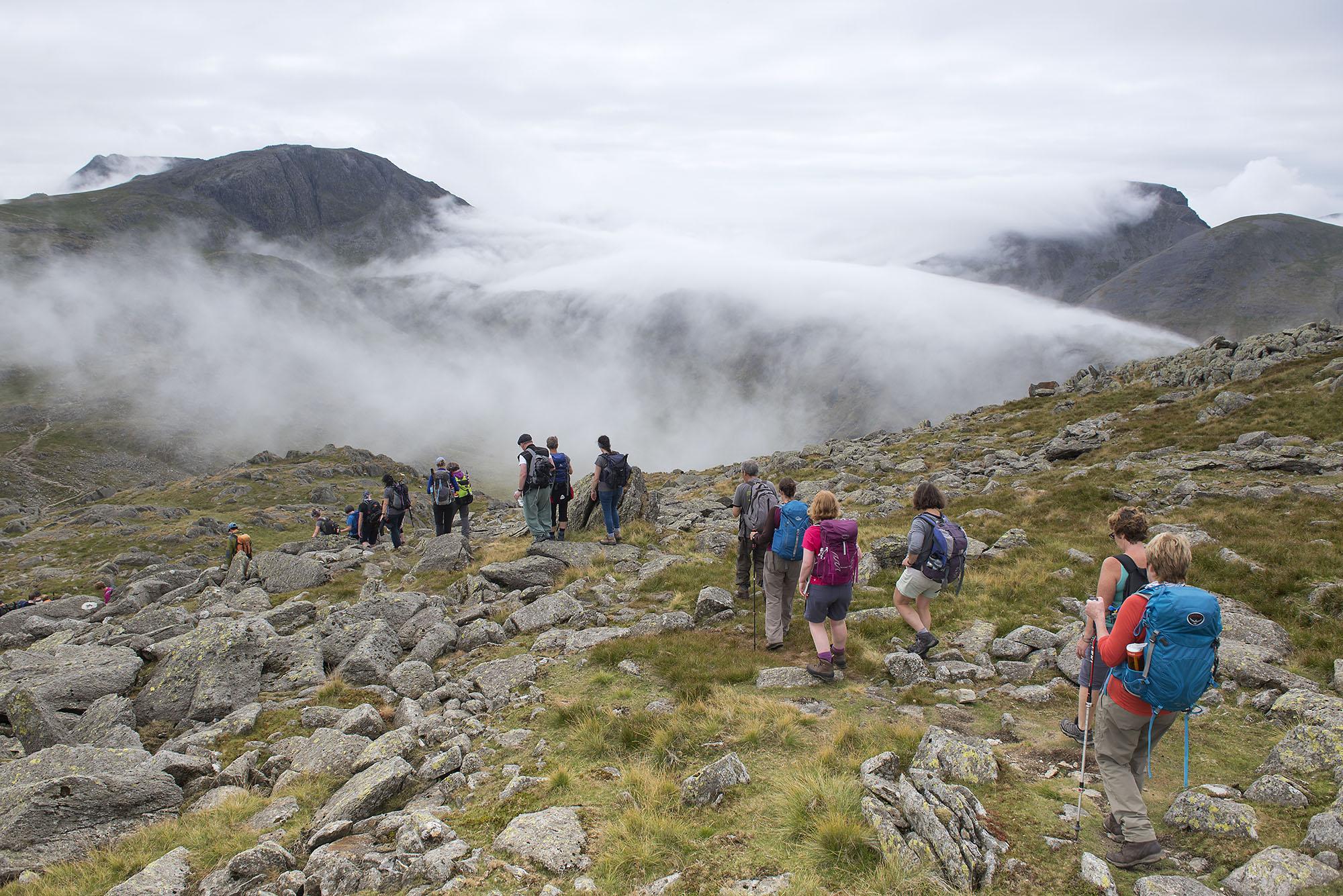 Glaramara Descent to Allen Crags and Rolling Cloud on Seathwaite Fell ds.jpg