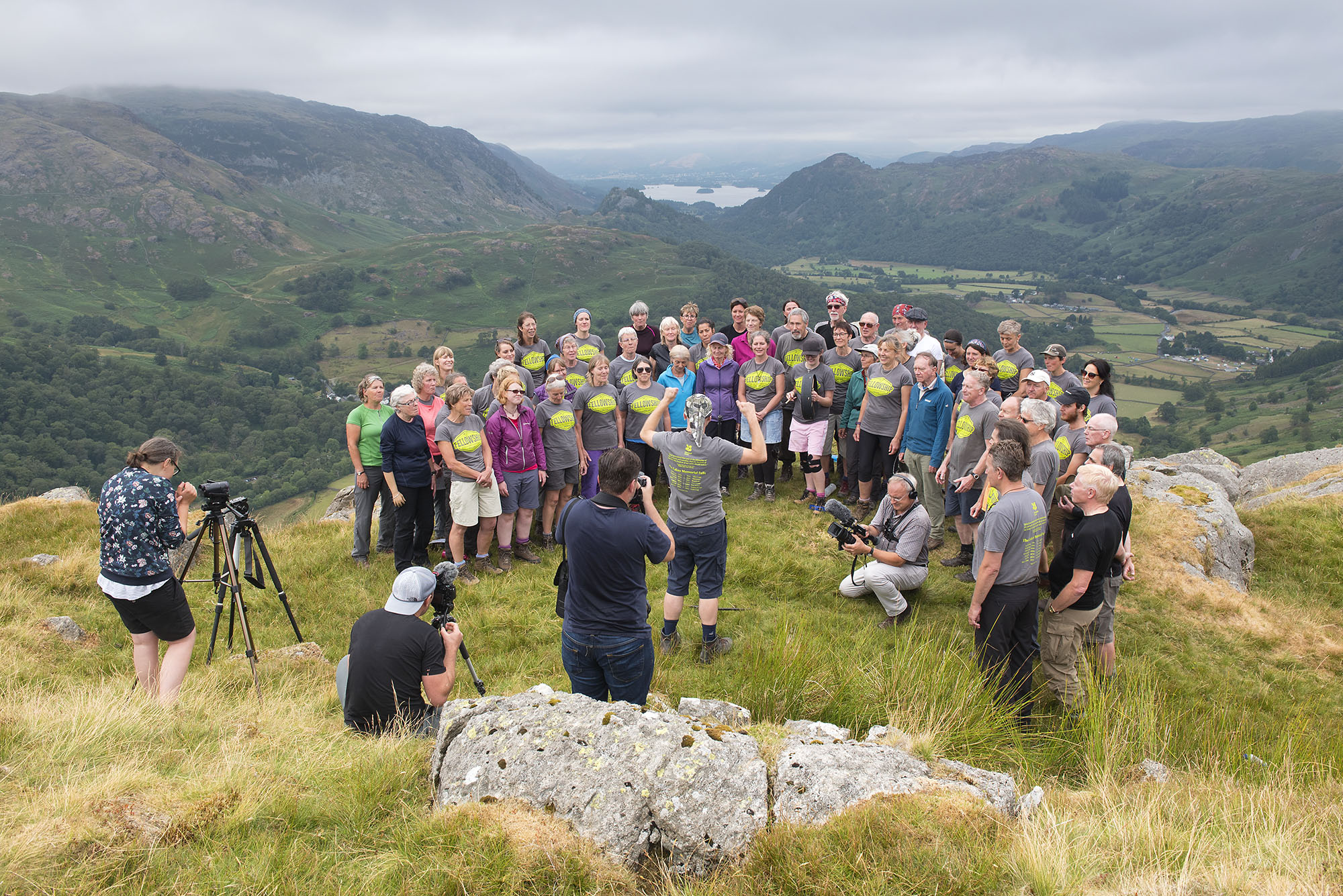 Singing and Filming on Thornythwaite Fell 2 ds.jpg