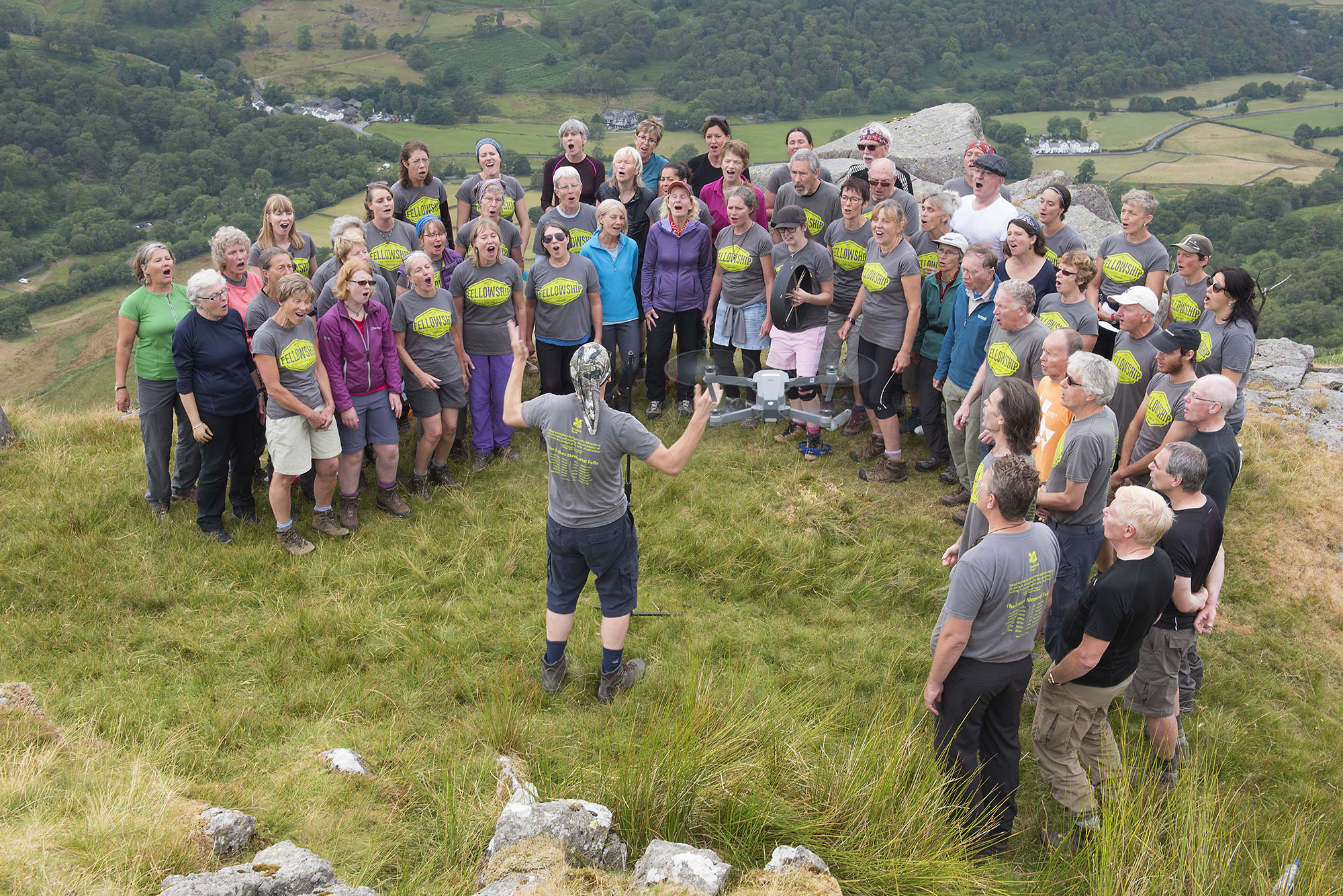 Singing on Thornythwaite Fell with Drone ds.jpg