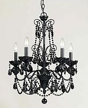 BlackChandelier5lights