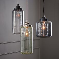 Glass Jar Pendants ~$99
