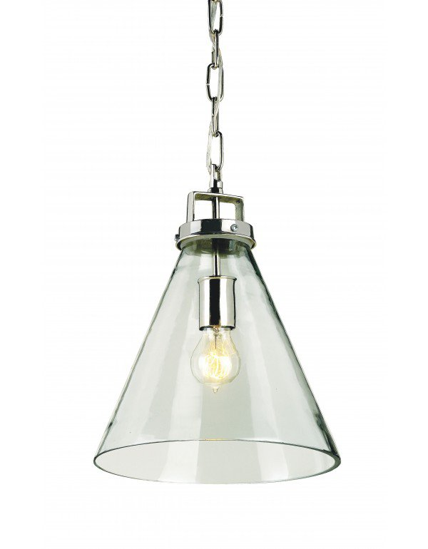 Vitrine Glass Pendant Light ~$490