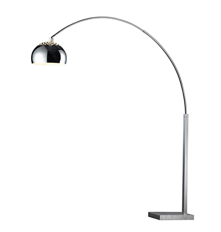 Silver Arc Floor Lamp ~$358