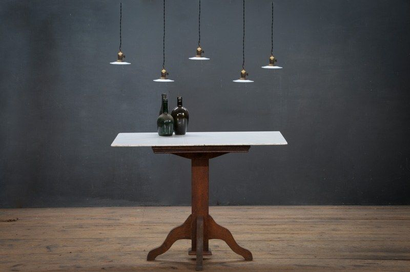 Vintage Disc Pendant Lights