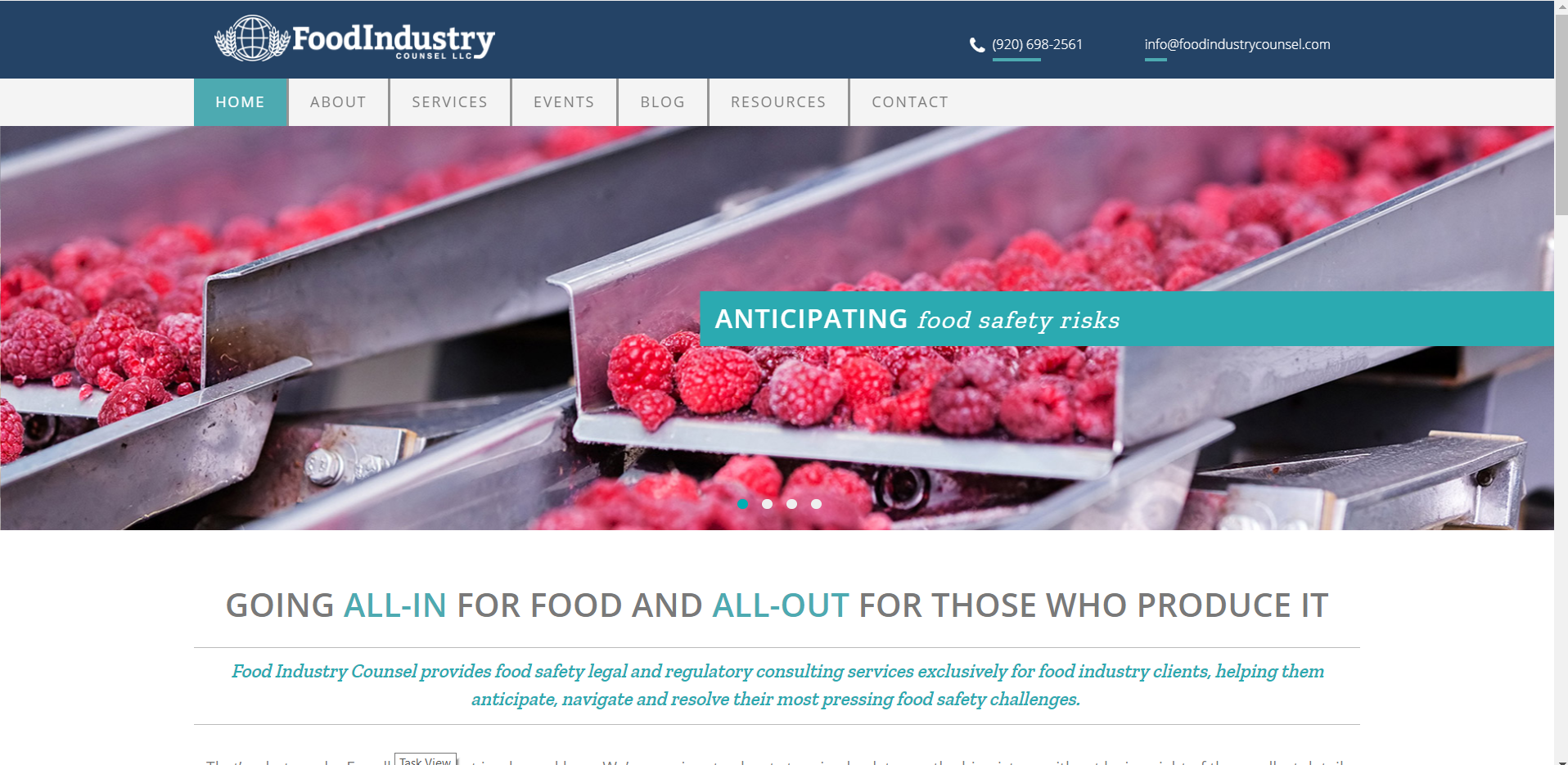 Food Industry Counsel Homepage.png