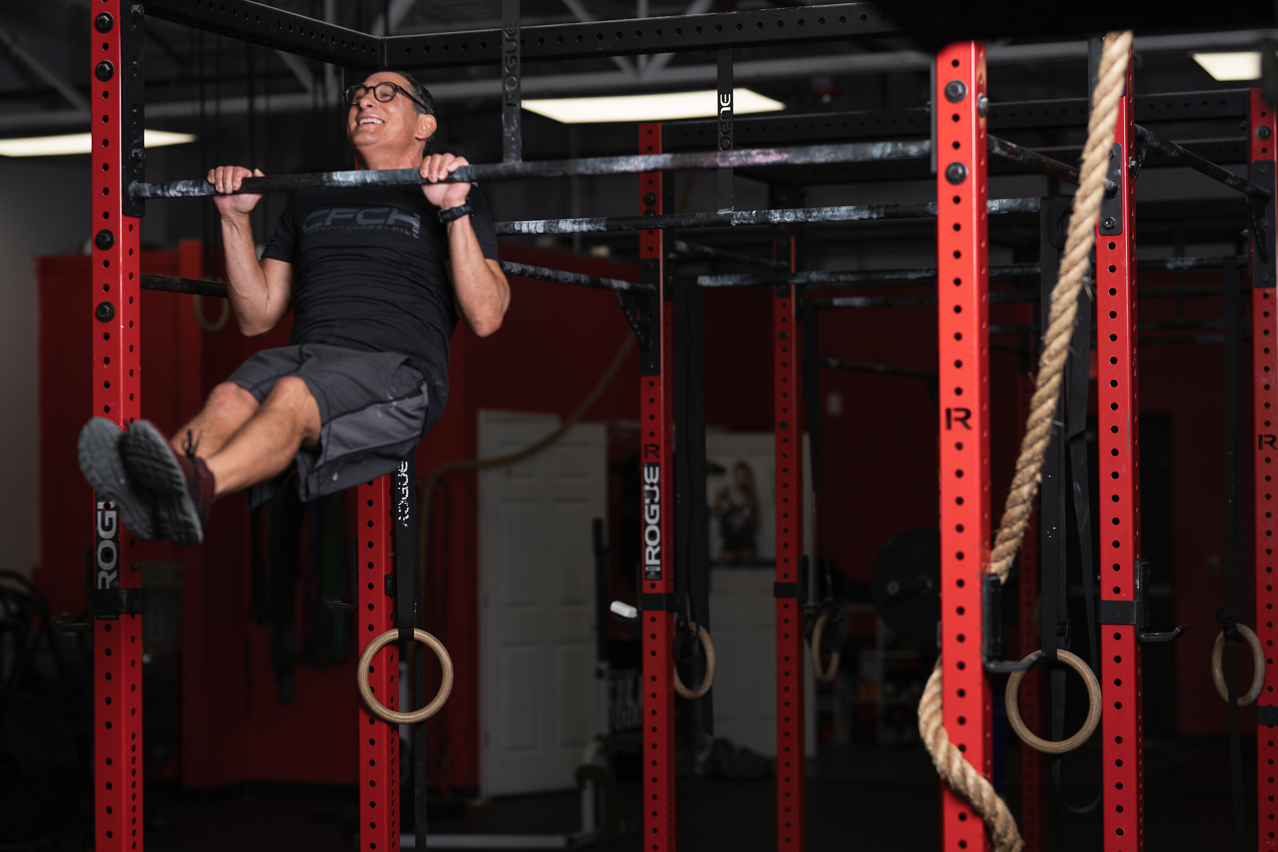 Pete Stone - - CoachCertificationsCrossFit Level 1 (CF-L1)CrossFit Level 2 (CF-L2)By the time I was 43, I had trained for body building, run long distances and cross trained, never finding the results I was looking for. After my son was born in 2009, I stopped working out because of sleepless nights and the exhaustion of new parenthood. I gained 20 pounds and was in terrible shape.My wife saw a Groupon for a CrossFit boot camp and I enrolled in the class and instantly I was hooked. CrossFit has changed my life. Having a community that truly cares and I am accountable to has made a huge difference in my life and my level of fitness.I decided in 2013 that I wanted to become a CrossFit Level 1 coach and I completed the course. It was a great experience. For me it is an honor to be able to coach and learn from an exceptional group of athletes. My goal is to create a safe and supportive environment where athletes can reach their full potential.