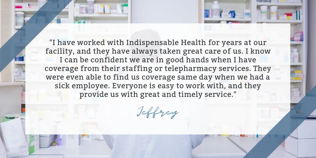 Indispensable Health Testimonial - Jeffrey