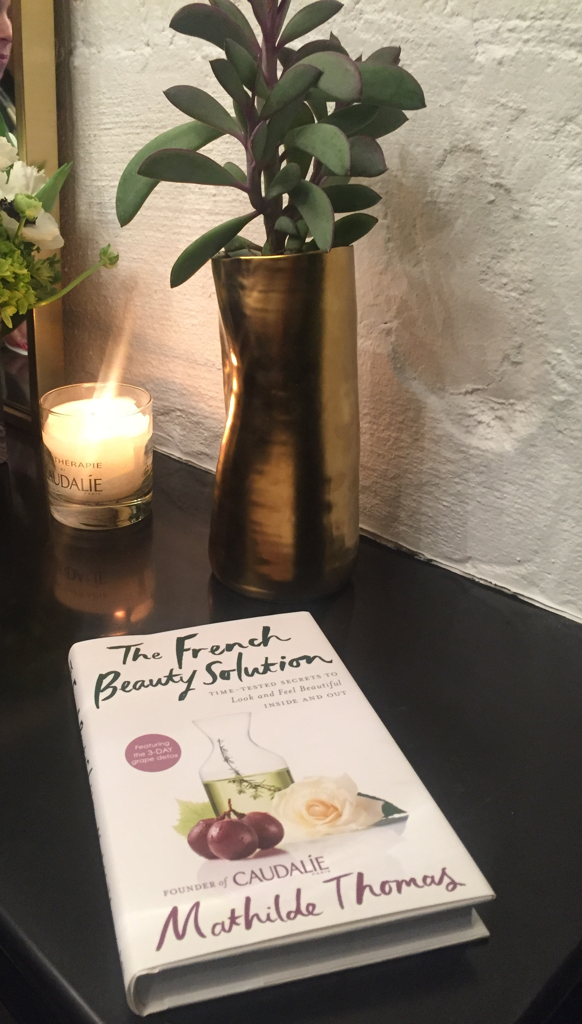 "Mathilde's book ""The French Beauty Solution."""